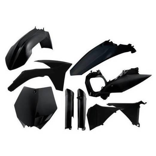 Acerbis Full Plastic Kit Black - 2205280001