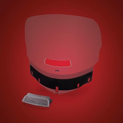 Show Chrome Custom Tint Windshield w/ Vent and Cutout - Honda GL1800 Goldwing - 20-516T