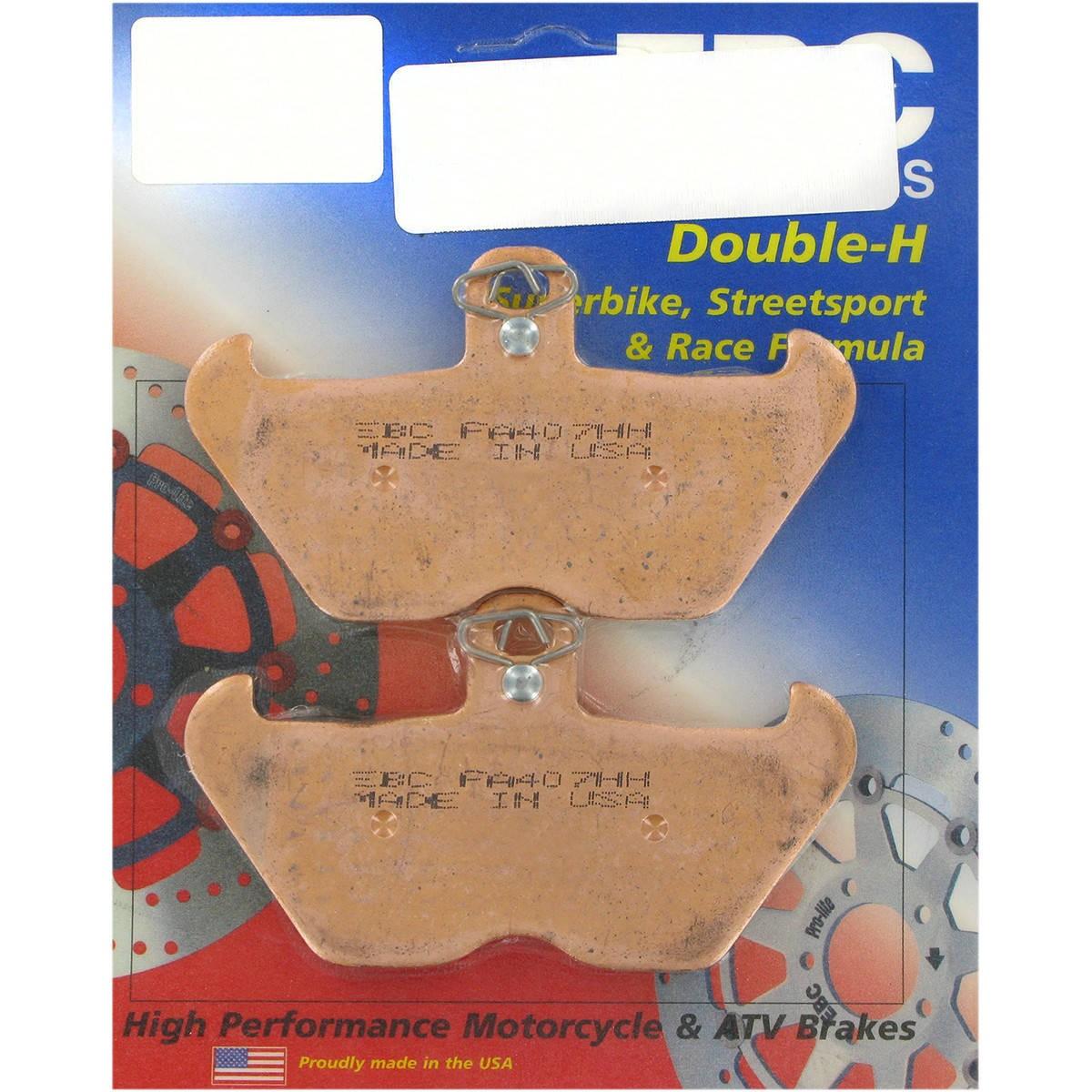 EBC Double-H Sintered Brake Pads - FA407HH