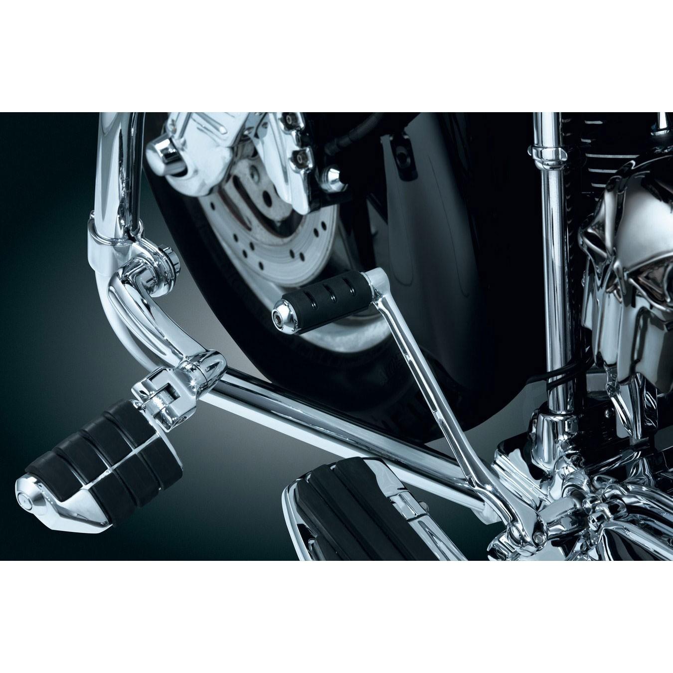 Kuryakyn Trident ISO Shifter Peg - Longhorn - Chrome - 7594