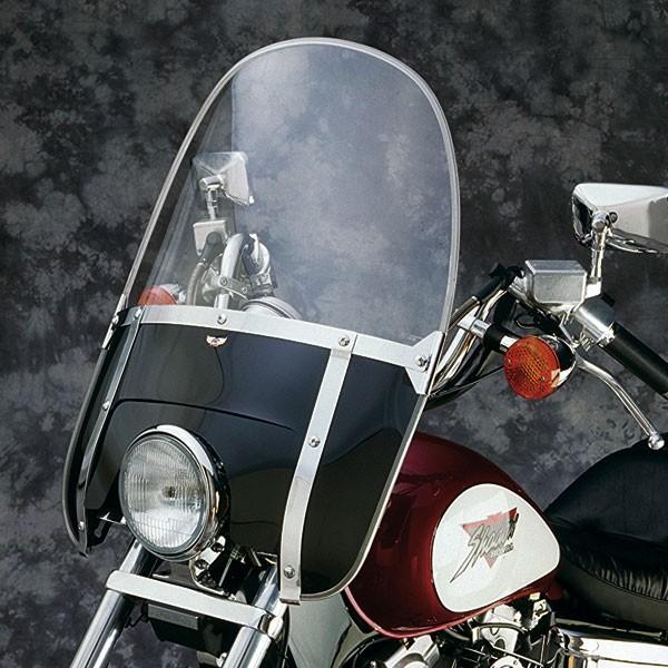 National Cycle Beaded Heavy Duty Windshield Black - N2233