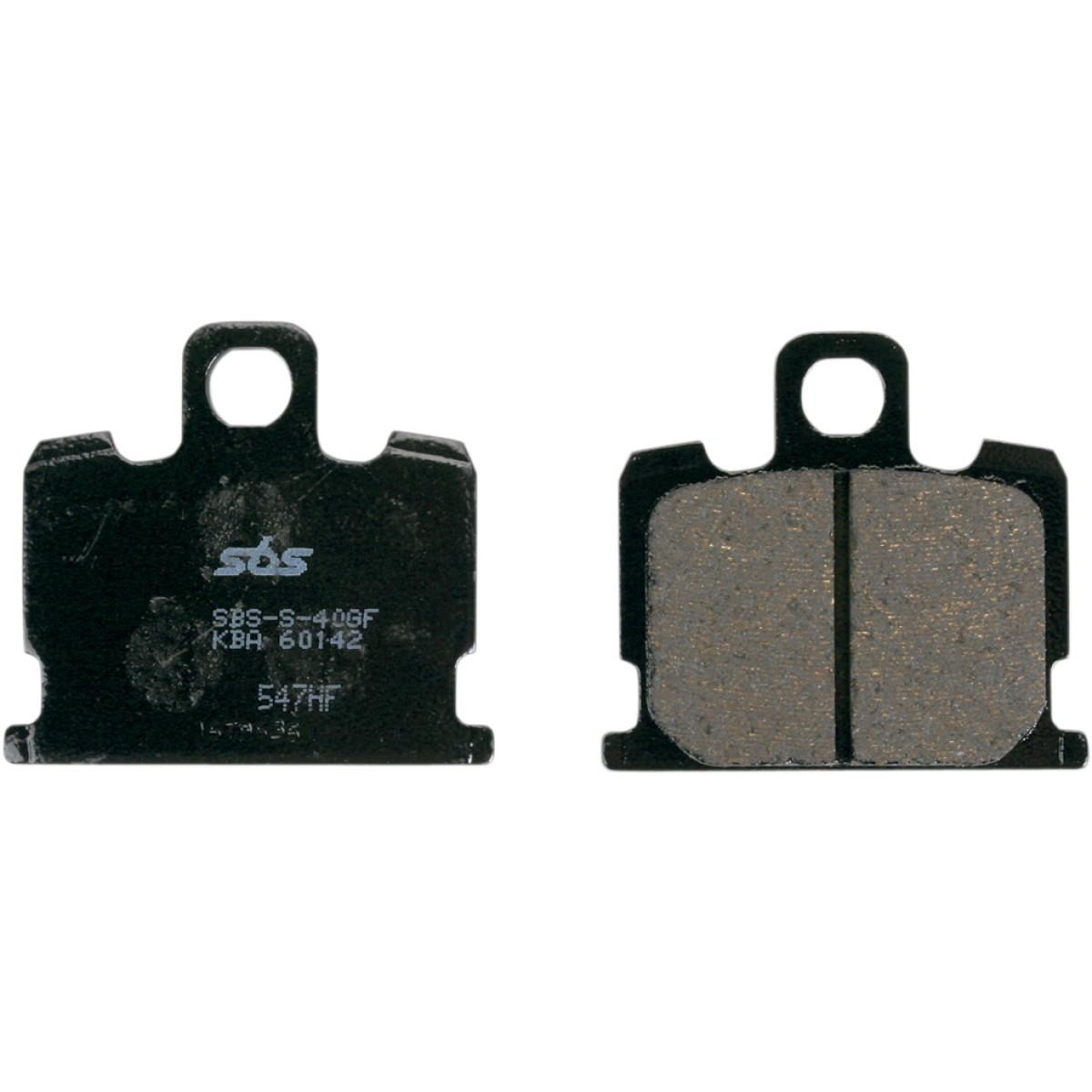 SBS HF Ceramic Brake Pads - 547HF