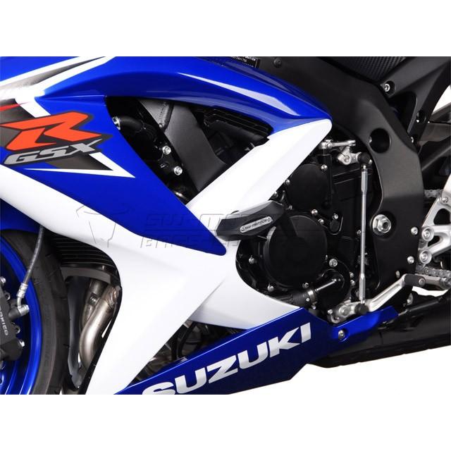SW-Motech Frame Slider Kit - STP.05.590.10500/B | Suzuki GSX-R600 2007-2009