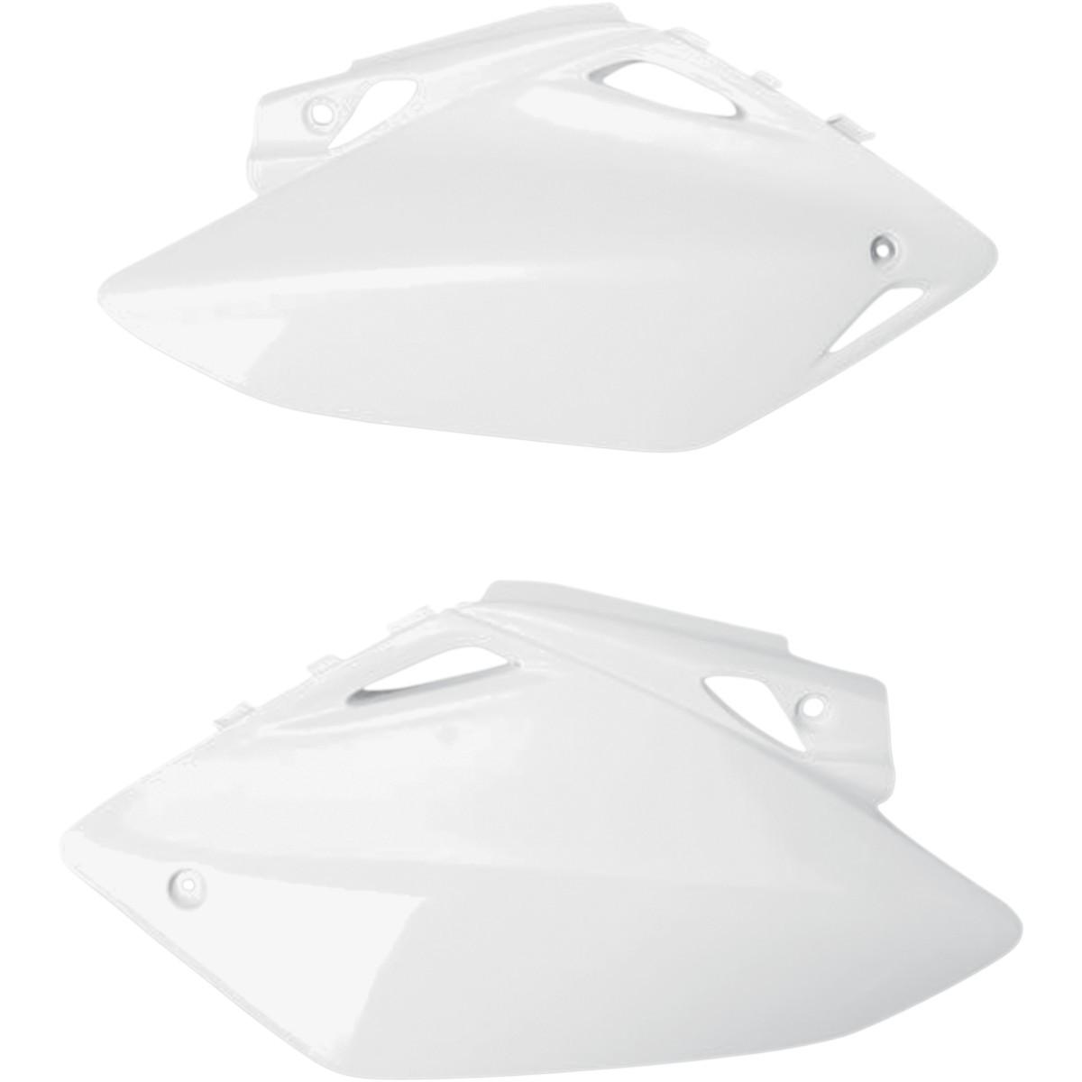 UFO Side Panels White - HO03656-041 | Honda CRF450R 2005-2006
