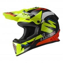 LS2 MX437 Fast V2 Explosive Helmet